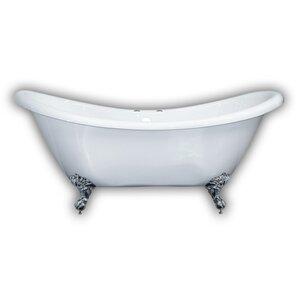 5 foot clawfoot tub. 68 62 x 28 5 Claw Foot Slipper Bathtub Clawfoot Tubs You ll Love Wayfair  fruitesborras com 100 Tub Images The Best Home
