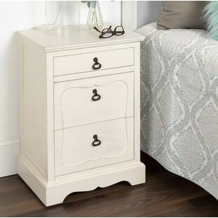 Delmonte Classic Nightstand End Table by Ophelia & Co.