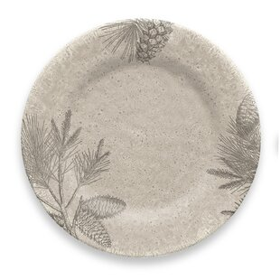 Costilla Rustic Pine Melamine Dinner Plate (Set of 6)