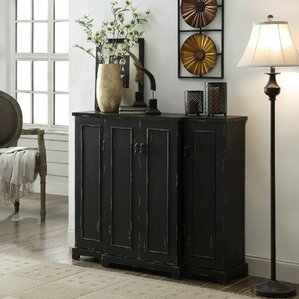 Drew 4 Door Credenza by Crestview Collection