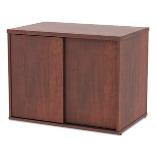 Tiernan Open Office Low Storage Cabinet Credenza Desk by Latitude Run Design