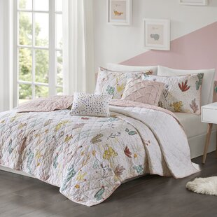 Merida Brimmer Desert Bloom Printed Reversible Duvet Cover Set