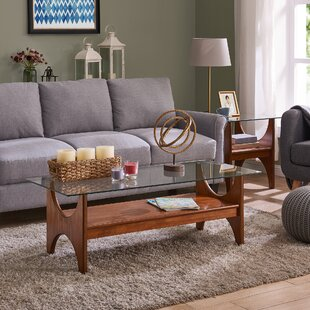 Nasir 2 Piece Coffee Table Set