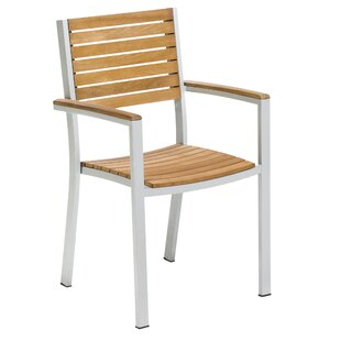 Caspian Stacking Patio Dining Chair (Set of 2)
