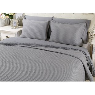 Chandler Luxury Quilted 2 Piece Sham Set