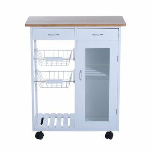Etheridge Organizer Appliance Kitchen Cart
