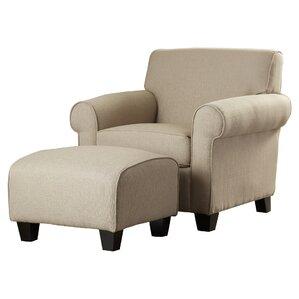 Superb 2 Piece Winnetka Arm Chair U0026 Ottoman Set