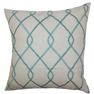 Jolo Geometric Linen Throw Pillow