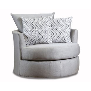 Great choice Phineas Swivel Barrel Chair by Latitude Run