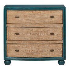 Mayfair 3 Drawer Accent Chest by Rosecliff Heights