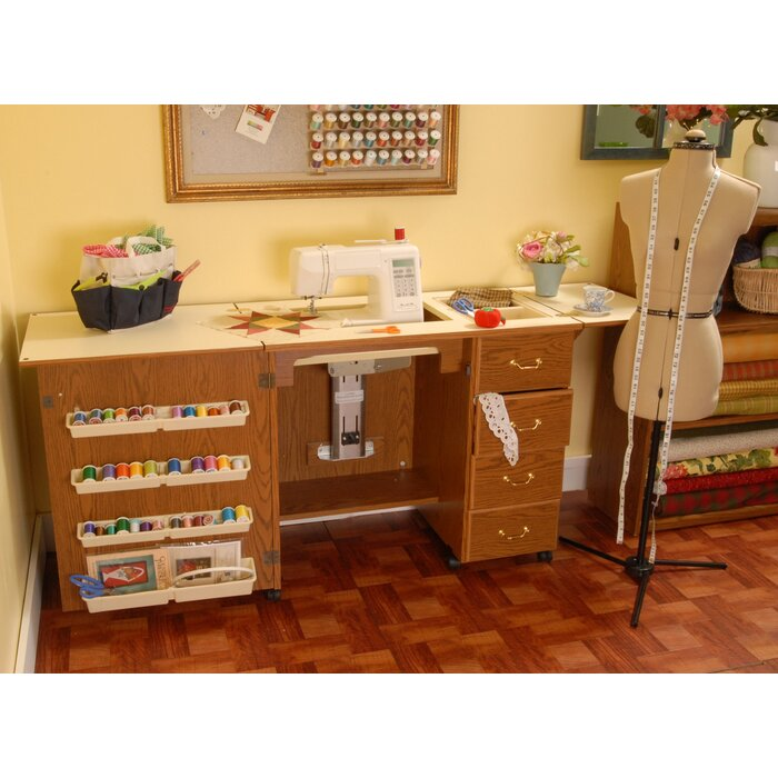 makeover salvaged desk sewing inspirations txt