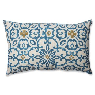Souvenir Scroll Cotton Lumbar Pillow