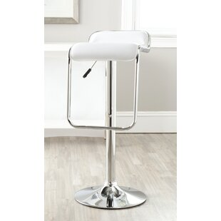 Raelene Adjustable Height Swivel Bar Stool Orren Ellis