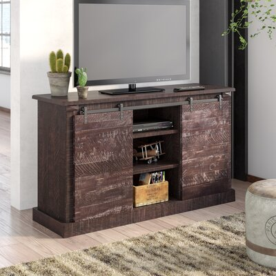 17 Stories Benefield TV Stand for TVs up to 60 inch Color Antique Black