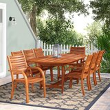 Frye 9 Piece Dining Set