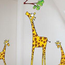 Ludo Madam Giraffe Wall Decal