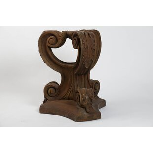 Furniture Acanthus Leaf Outdoor Pedestal Side Table Base