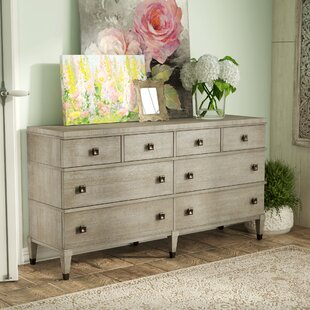 Massimo 8 Drawer Double Dresser