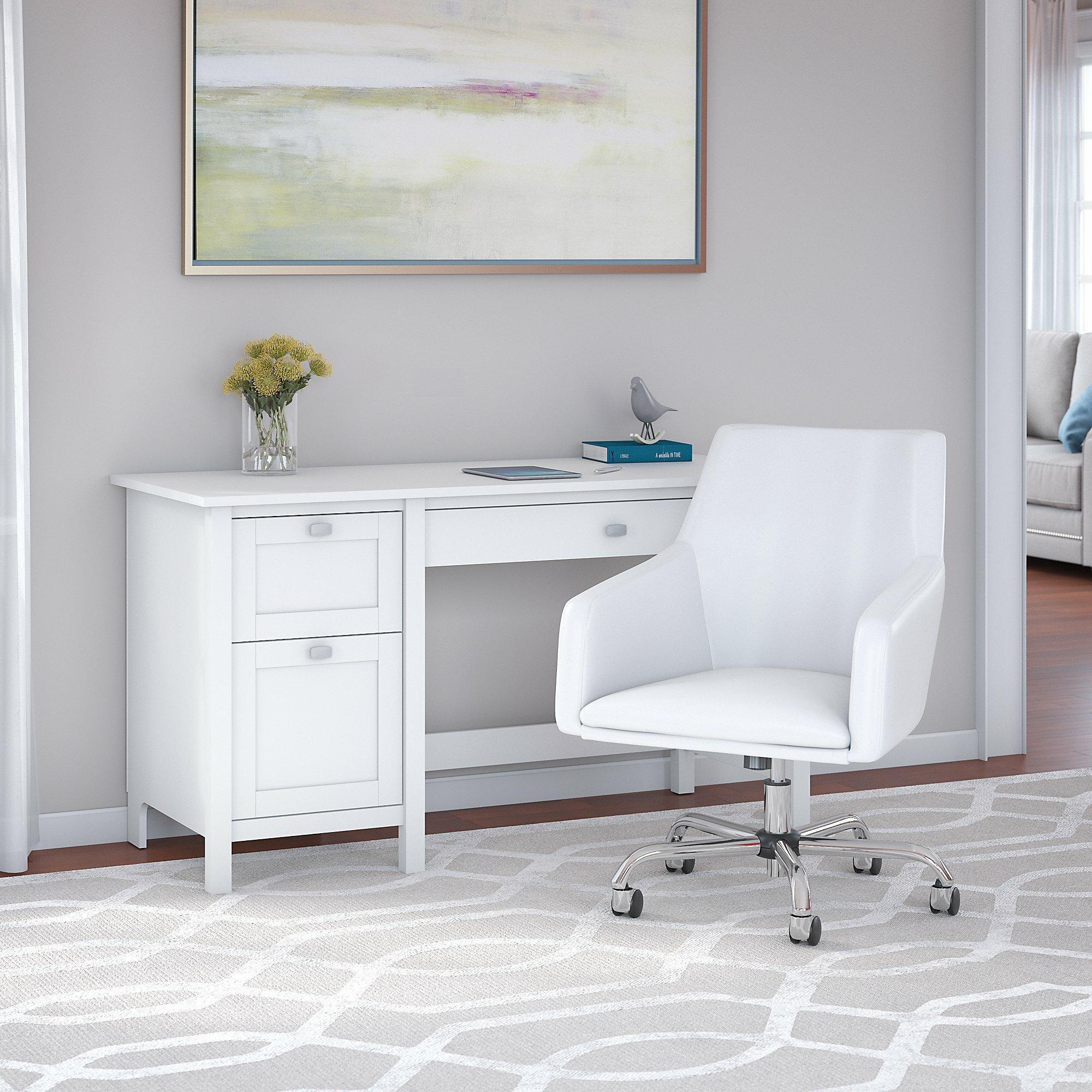 Andover Mills™ Perreira Desk and Chair Set & Reviews | Wayfair