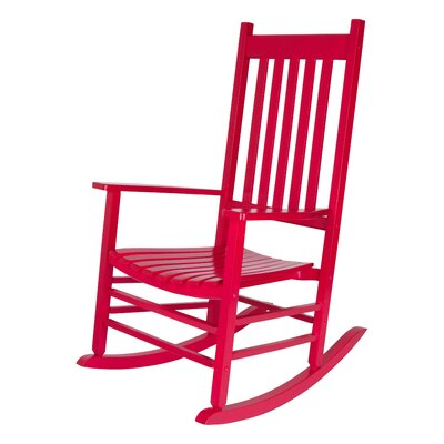 Emjay Rocking Chair by Andover Mills