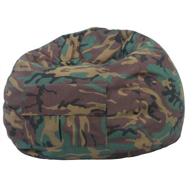 Gold Medal Bean Bags Camouflage Bean Bag Chair U0026 Reviews | Wayfair