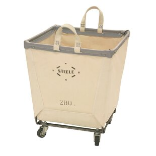 Square Carry Laundry Hamper by Steele Canvas