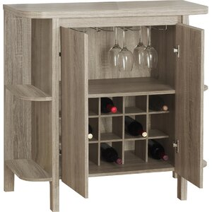 Keshia Guffey Bar with Wine Storage
