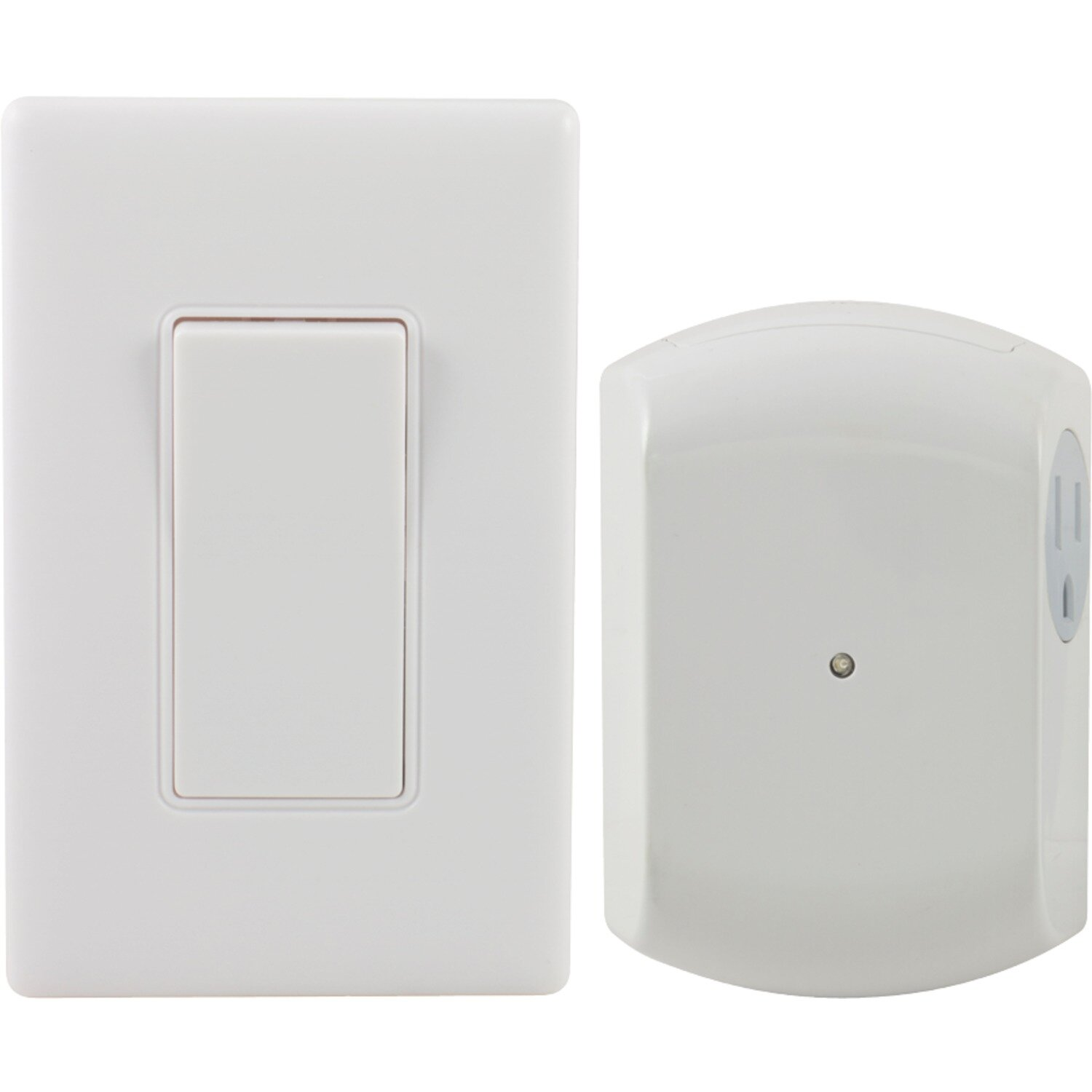 GE Wireless Switch Light Control Wall Mounted Outlet | Wayfair