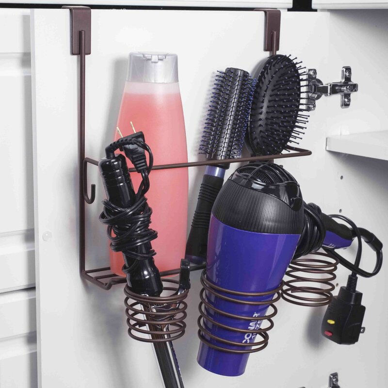Wayfair Basics Over-the-Cabinet Hair Tool Organizer