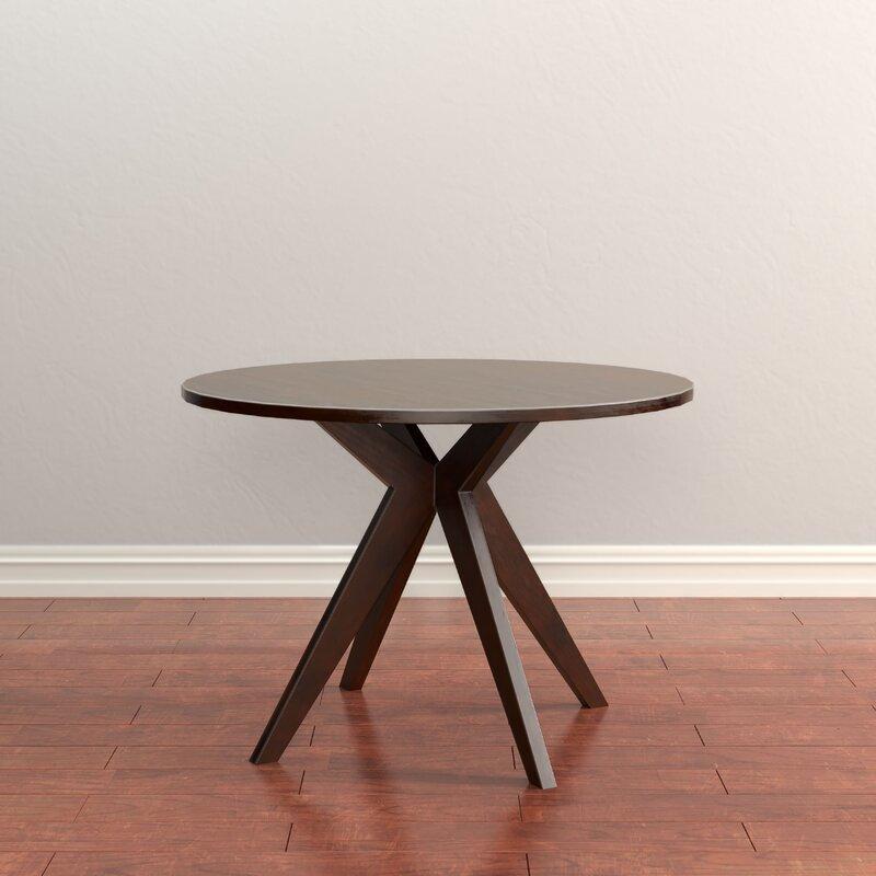 Bathurst Mid Century Modern Round Dining Table