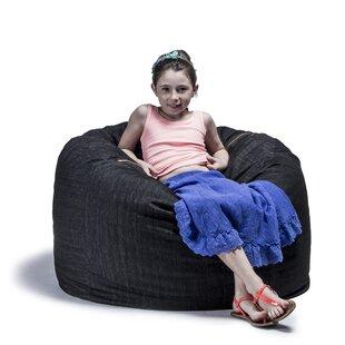 Denim 3' Bean Bag Chair by Jaxx