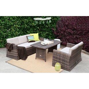 3 Piece Sofa Set with Cushions