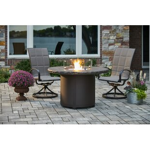 Beacon Steel Propane/Natural Gas Fire Pit Table by The Outdoor GreatRoom Company Cheap