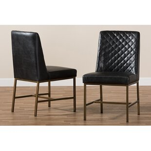 Price Check Marla Upholstered Dining Chair (Set of 2) by Brayden Studio Reviews (2019) & Buyer's Guide