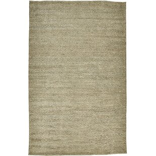 Reviews Riaria Hand-Woven Dove Area Rug By Charlton Home