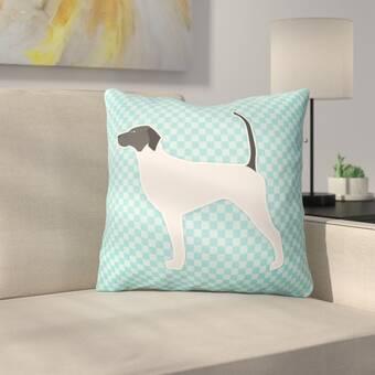 East Urban Home Frankie Van Mourik Ogee Throw Pillow Wayfair