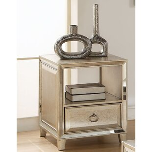 Check Prices Leanora End Table with Storage by Andrew Home Studio