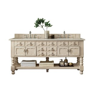 Castilian 72 Double Bathroom Vanity Base by James Martin Furniture
