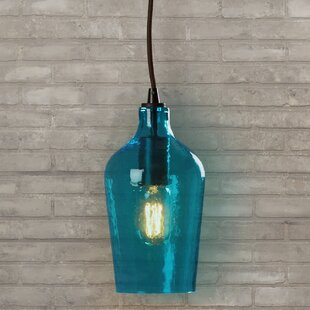 blue shade pendants you ll wayfair