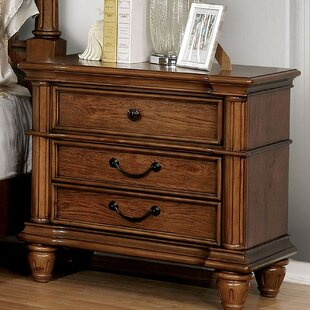 Bowyer 3 Drawer Nightstand