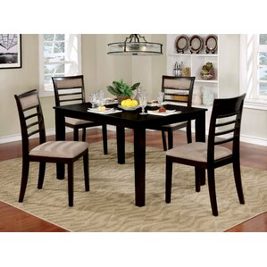 Romel 5 Piece Dining Set (Set of 5) by Red Barrel Studio