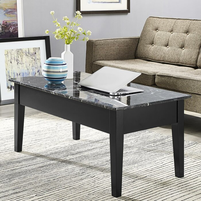 Marvelous Carterville Lift Top Coffee Table With Storage Andrewgaddart Wooden Chair Designs For Living Room Andrewgaddartcom