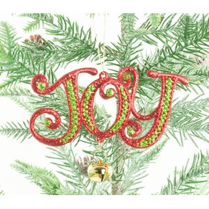 Joy Shaped Ornament (Set of 4)