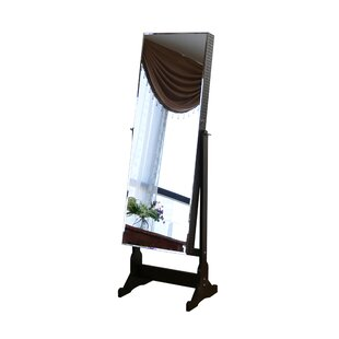 Coupon Jewelry Armoire with Mirror By Jeco Inc.