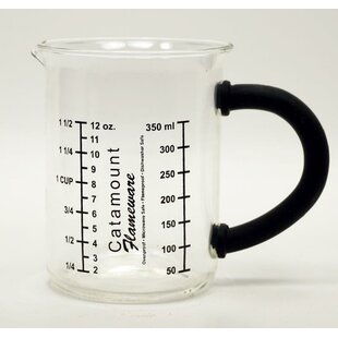 Glass Measuring Cup with Handle