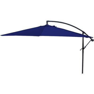 Brayden Studio Trotman 10' Cantilever Umbrella Fabric: Navy