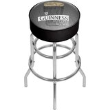 Guinness Line Art Pint 31 Swivel Bar Stool by Trademark Global
