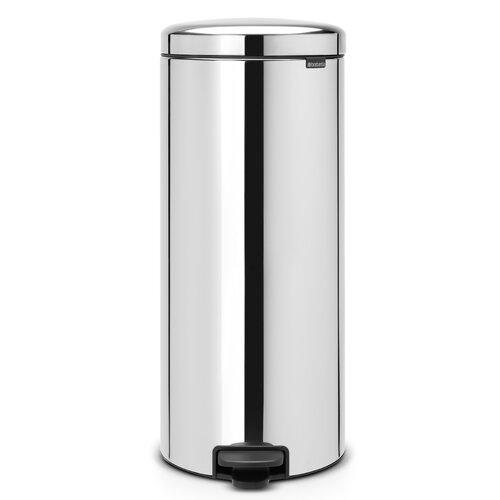 30 L Step-On Mülleimer New Icon aus Edelstahl | Küche und Esszimmer > Küchen-Zubehör > Mülleimer | Glänzender stahl | Kunststoff | Brabantia