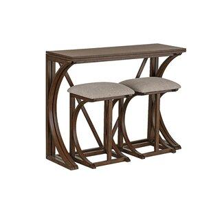 Landon 3 Piece Pub Table Set