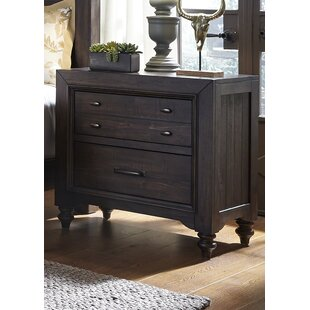 Maguire 2 Drawer Nightstand